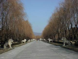 Walkway of Ming Tombs