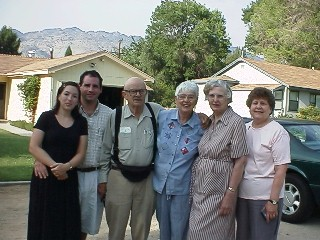Kristina, David, Lou, Mary, Angela, and Lucy