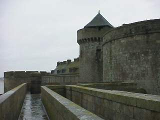 The ramparts of St. Malo