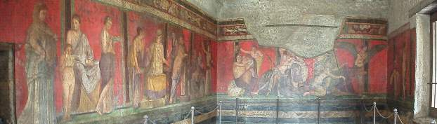 Frescos in the House of Mysteries