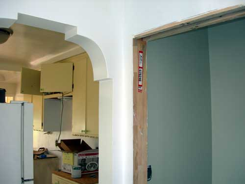 Kitchen with no upper cabinets for Kitchen room indian style