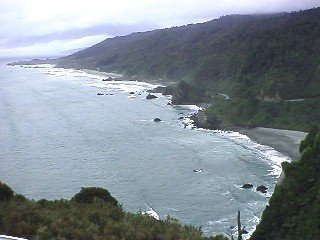 coastline of NZ