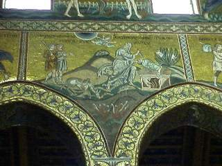 Details of mosaic in Monreale
