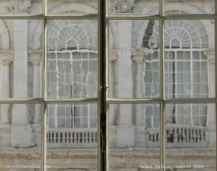 "Post image for Favorite Photo Friday-""Through the Looking Glass"" (Madrid Royal Palace)"