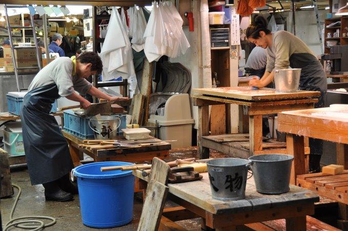 Tsukiji Market Clean Up