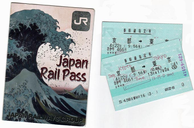Japan Rail Pass and Tickets