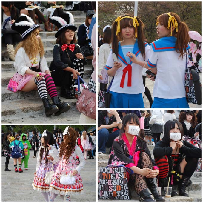 Harajuku Girls of all Types