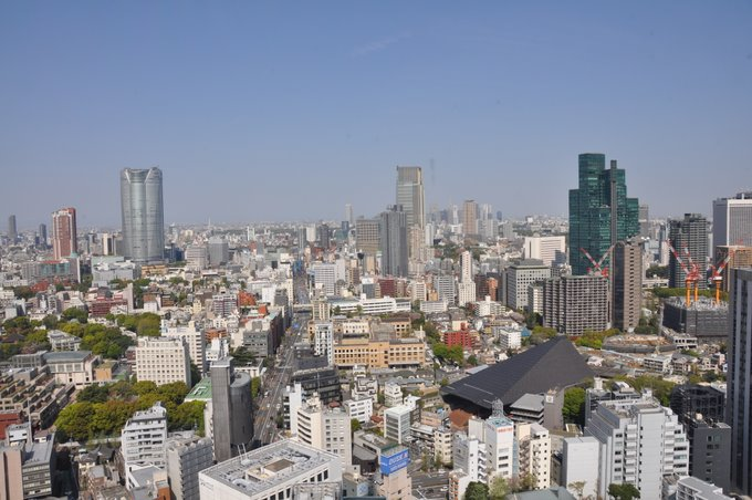Tokyo Tower view