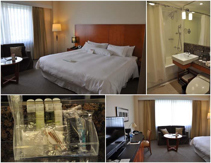 Standard room at Westin Miyako Kyoto