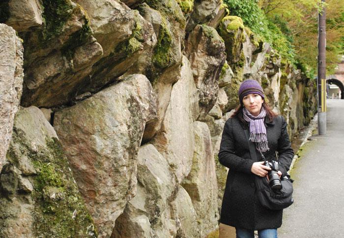 Kristina in Kyoto