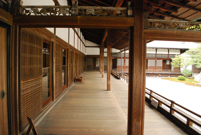Nanzen-Ji Temple, inside the abbott's quarters.