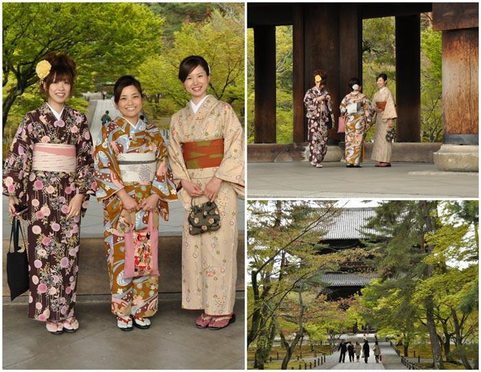 Nanzen-Ji Kimonos