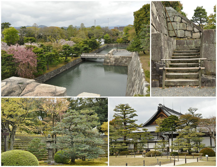 Scenes from within Nijo Castle Park