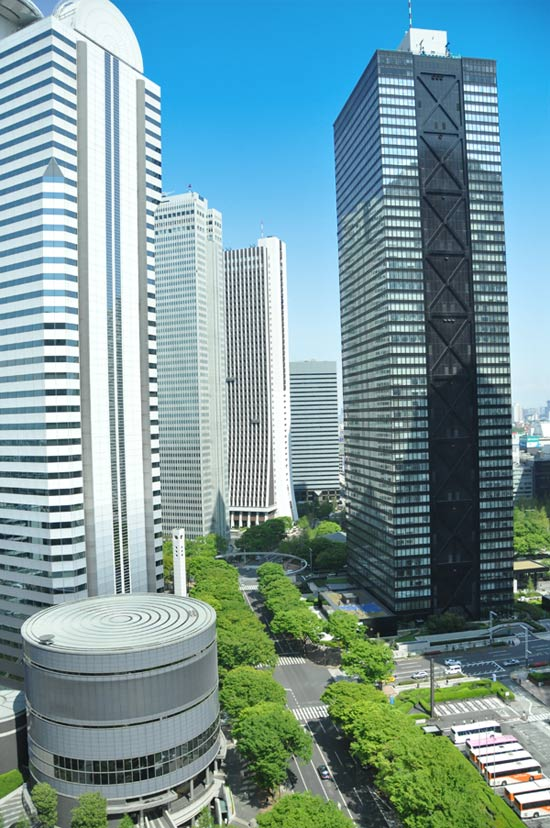 View from Tokyo Hilton