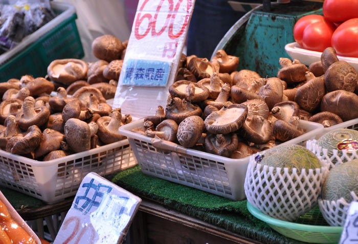 Ameyoko Market Mushrooms