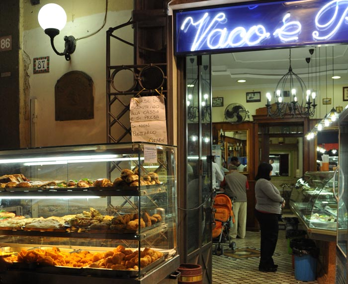Naples fried food