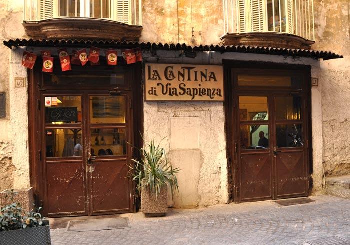 Cantina di Via Sapienza, Naples