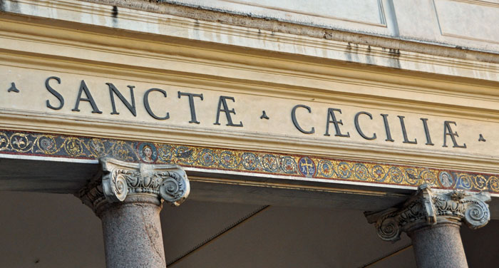 Post image for Santa Cecilia in Rome; A Surprise Under the Church