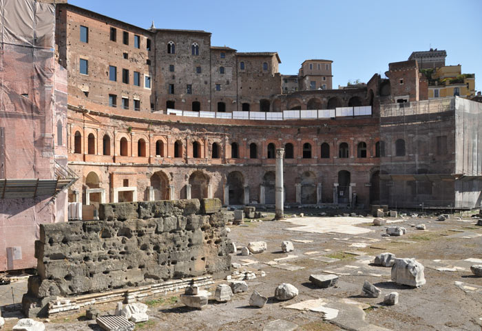 Post image for A Visit To Trajan's Market in Rome