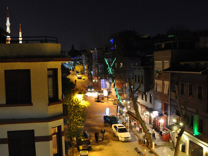 Sari Konak night view