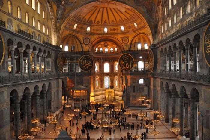 Hagia Sophia balcony view