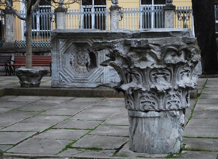 Hagia Sophia Courtyard