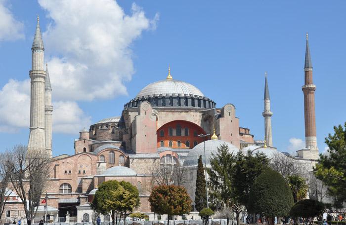 Hagia Sophia Outside