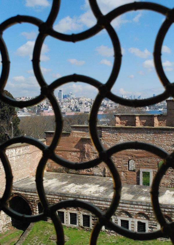 Topkapi Palace Harem View