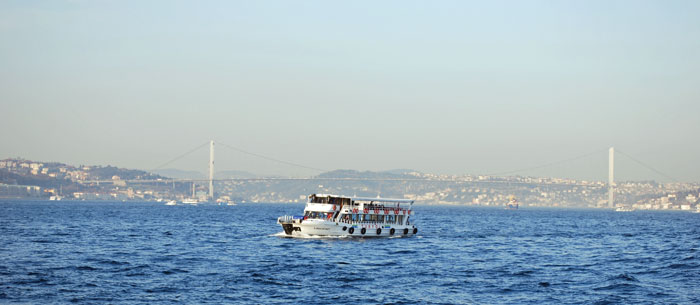 Bosphorus Cruise view