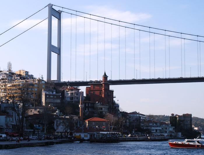 Bosphorus Cruise view