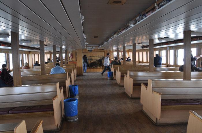 Bosphorus Cruise ferry bottom level