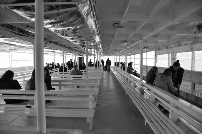Bosphorus Cruise top level