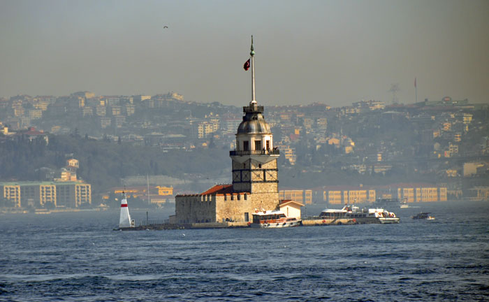 Lighthouse on Bosphorus Cruise