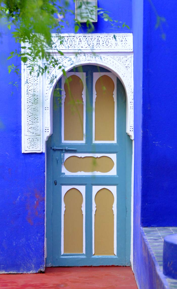 Post image for Color Me Blue, Majorelle Blue, in Marrakech