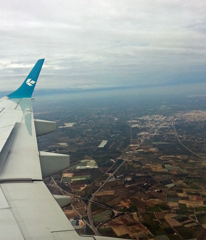 Air Dolomiti over Bari