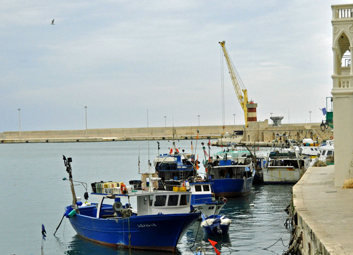 Port in Monopoli
