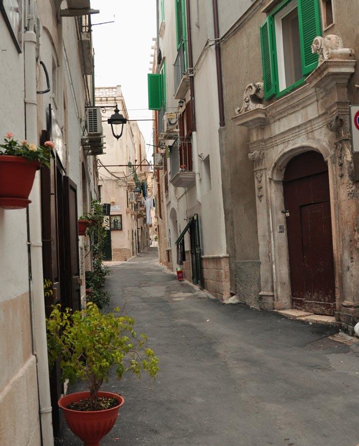 Street in Monopoli