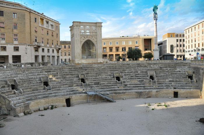 Lecce Piazza Sant Oronzo