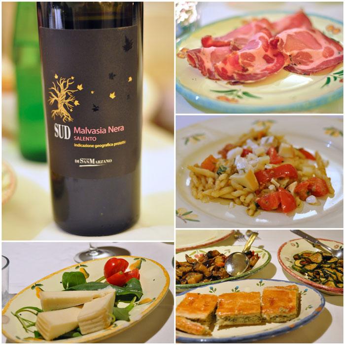 Masseria Salamina food