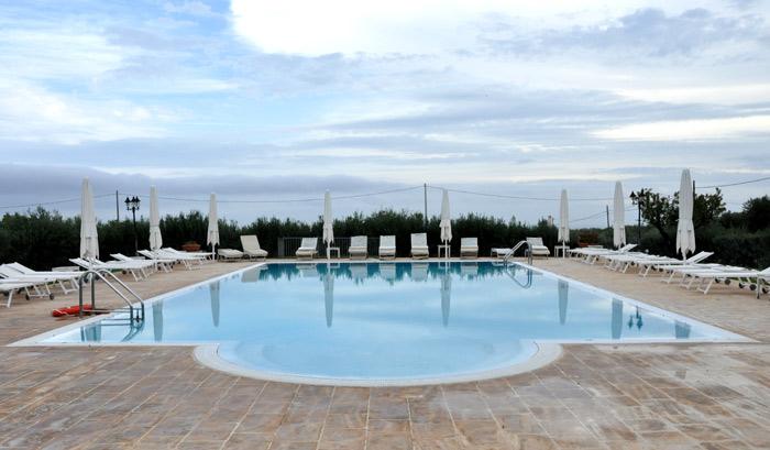 Masseria Salamina pool