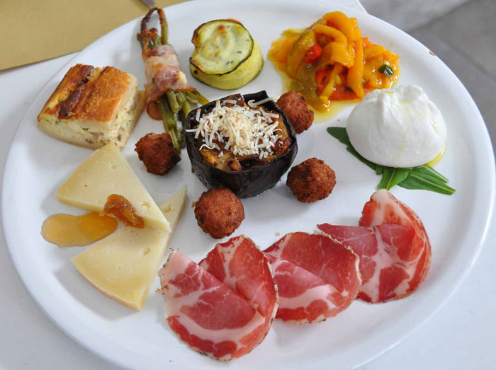 Il Cortiletto Antipasti