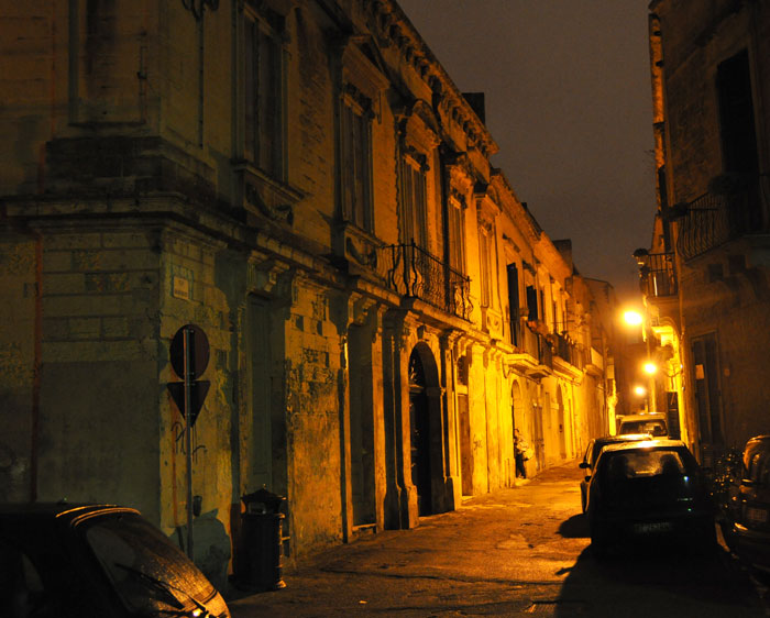 Lecce at Night