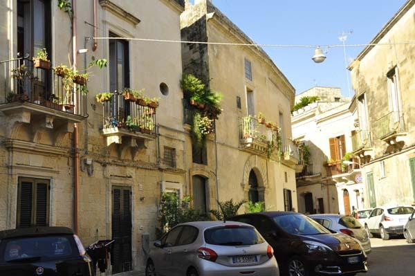 Piazza near Palazzo Gorgoni Lecce