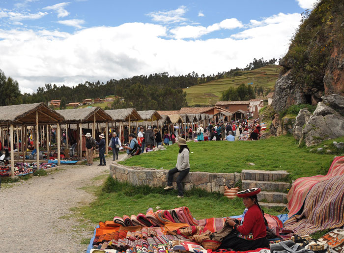 Post image for Market in Chinchero Peru