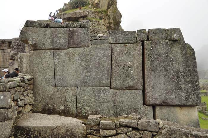 Machu Picchu stones on wired2theworld.com