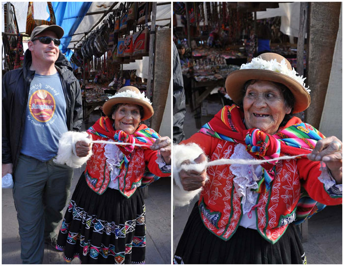 Pisac Market Woman