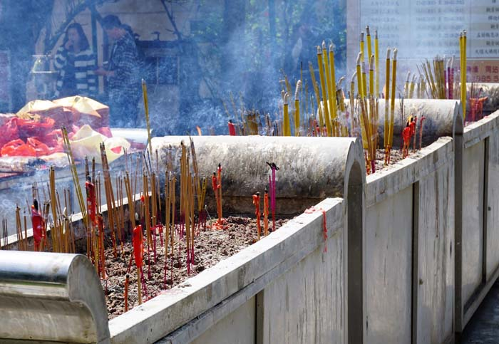 Po Lin Monastery Incense