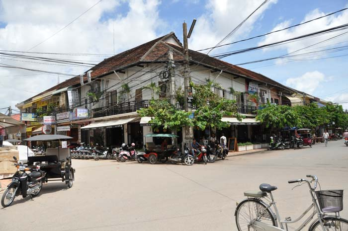 Cafe Central in Siem Reap Cambodia