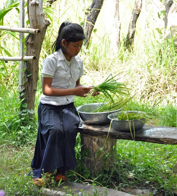 Child at Koh Ker School Cambodia, Ponheary Ly Foundation