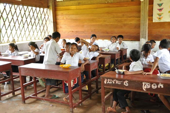 Children at Koh Ker School Cambodia, Ponheary Ly Foundation
